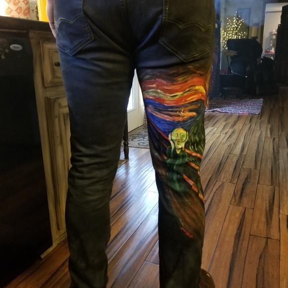 7f46048c0f4ad various Jeans | Custom Hand Painted Clothing | Poshmark
